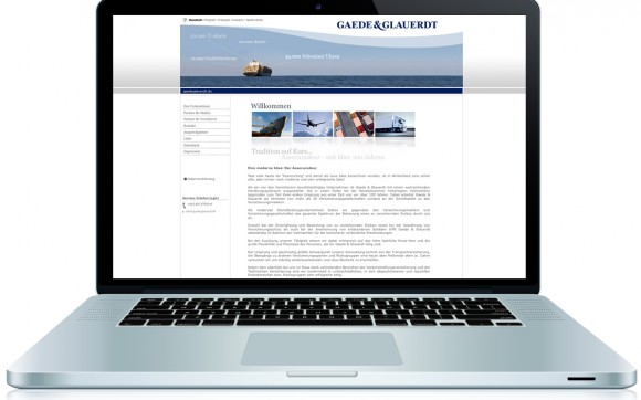 Gaede & Glauerdt - Website