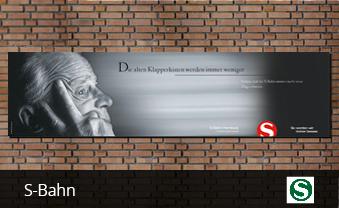 S-Bahn Hamburg - Plakatkampagne